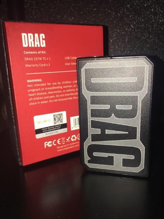 VOOPOO DRAG 157W TC GENE CHIP BOX MOD, United States, Maine, Scarborough |  UsedVape com
