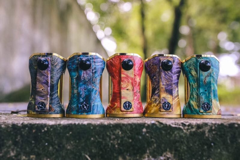High End Stabwood Matrix Fossi 200W APV Box Mod | UsedVape com