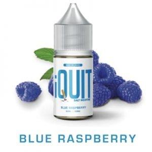 BLUE RASPBERRY BY IQUIT SALT NICOTINE PREMIUM E-LIQUIDS