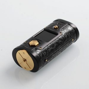 YIHI SXMINI G CLASS SX550J 200W BOX MOD - BLACK AND GOLD LIMITED EDITION