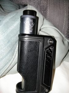 Like new Therion 75c Squonk with Dead Rabbit RDA