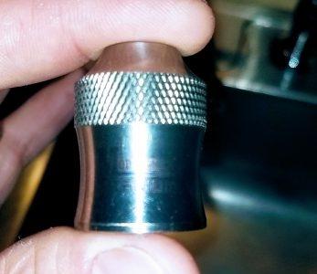 Titanium modfather cap