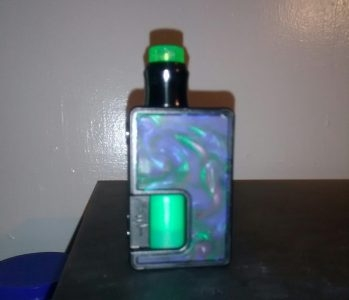 Pulse 80w Squonk mod and Wotofo Recurve RDA