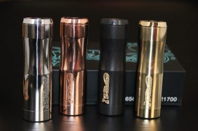 Missile Stacked 21700 Mech Mod