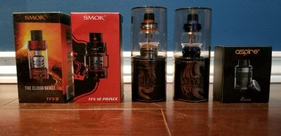 Various vape tanks for sale...