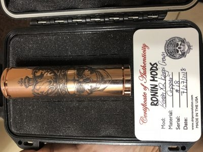 Dripn Revolution Ronin Mod X2 Kings Crown With Kennedy Atomizer