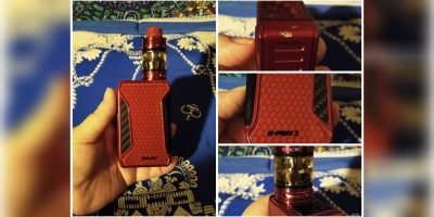 Smok H-Priv2 in Red - mod & tank