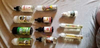Huge Lot of Brand New & Opened Vape Juice- FREE SHIPPING