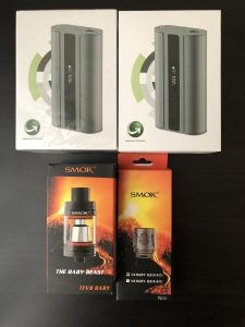 GREAT VAPE BUNDLE (SMOK & iStick)