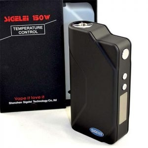 Sigelei 150 watt Temperature Control Mod LED