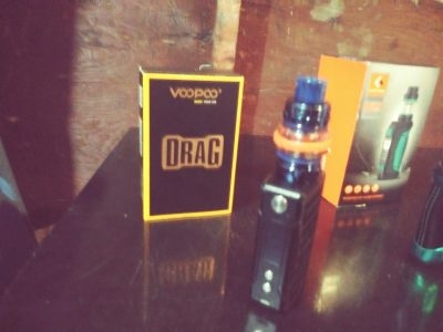 Voo poo drag with falcon 2 coil brand new