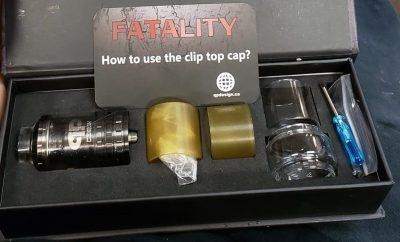 Used LE Fatality 28mm Gunmetal
