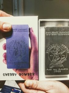 Ultra Rare Custom Cherry Bomber by Mastwerworks new authentic w/ box