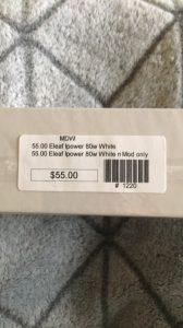 *NEW* Eleaf iPower 80W Battery White