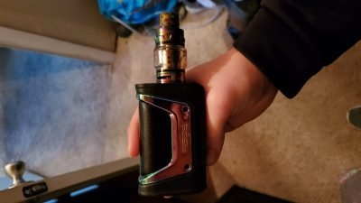 Aegis vape with extra tank