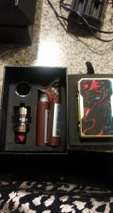 Voopoo Gold drag kit