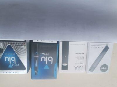 LOGIC COMPACT,JUUL starter kit,BLU pro kit,my BLU intense starter kit