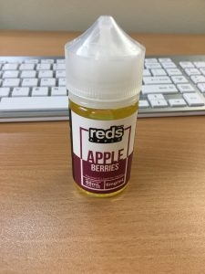 Unopened Reds Vape Juice 6MG (60ML)