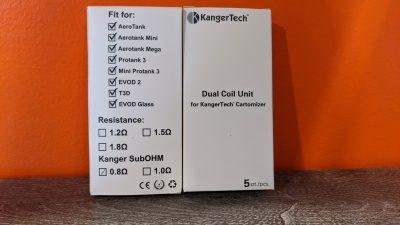 KangerTech Dual Coils | Coils | Evod 2