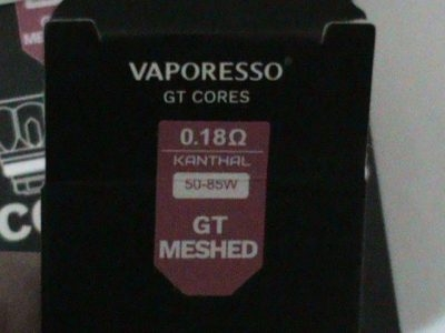 3 Boxes GT COILS for Vapresso .18 Meshed NINE IN TOTAL