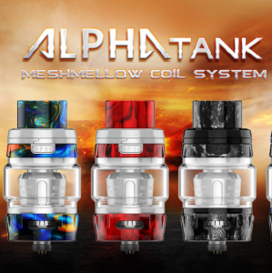 The ALPHA Mesh SubOhm tank by GeekVape