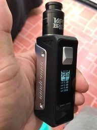 Aegis mod and Vape Breed 24mm