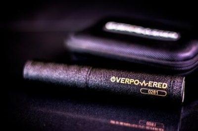 Overpowered 21700 Mech Mod