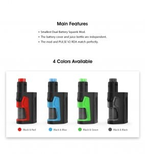 Pulse Dual 18650 Squonk Kit From Vandy Vape