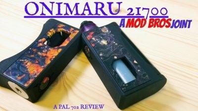 Mod Bros Onimaru 21700 Mech Squonk Mod