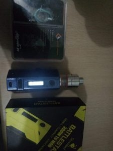 Used Vape Set RX 2/3, Avocado 24 and Smoant Battlestar