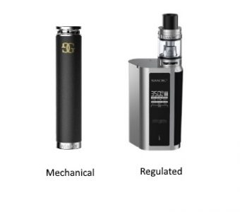 The Difference Between Regulated & Mechanical Mods!