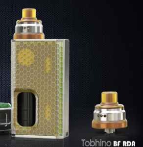 LUXOTIC BF BOX BY Wismec with Tobhino RDA