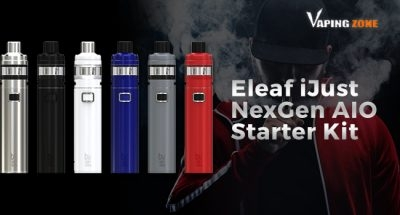 Reviews Of Eleaf iJust NexGen AIO Starter Kit – The Simplest is the Best